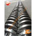 Conical Twin Screw and Barrel for PVC Pipes