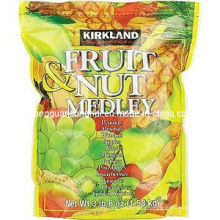Plastic Fruit and Nut Medley Packaging Bag/ Mixed Fruit and Nuts Bag