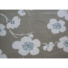 Pure Linen Print Sofa Stoff (HL-003)