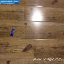 high glossy mould pressing laminated floor China D9134
