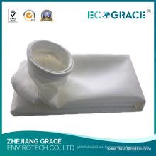 Bolsa de filtro del colector de polvo de fibra de la industria química PTFE