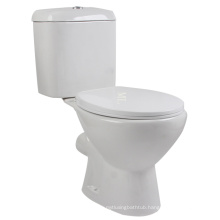 Washdown african two piece rimless toilet price