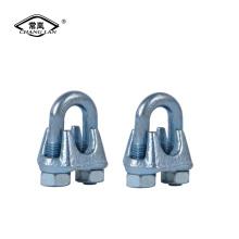 US type DIN741 DIN1142 clip de câble métallique malléable