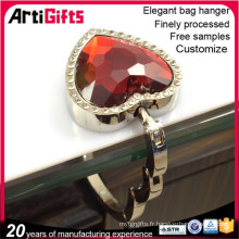 Wholesale cheap bag hanger with key chain
