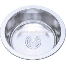 used commercial stainless steel round sink to wash the feet