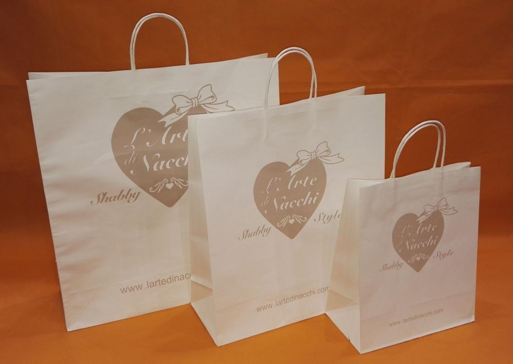 White Gift Bags With Handles