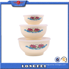 Fashionable Personalized Mixing Bowl with Plastic Lid