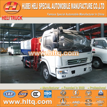 DONGFENG 6CBM self loading garbage truck120hp best price