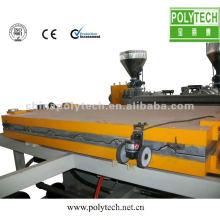 Ligne d'extrusion de plaque de toiture en PVC