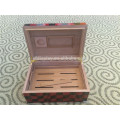 High Quality Spanish Cedar Wood Humidor Hold 50 Cigars Humidor Cigar Storag