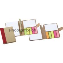 Boîtier de papier promotionnel Mini Sticky Office Memo Pad