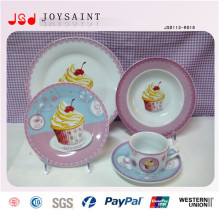 Europeu à moda com FDA / BPA Livre PS Porcelana descartável Cheap Bulk Dinner Plates