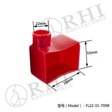 Capuchon de borne à haute tension, couvre-câbles isolés par plastique de botte d'isolateur de terminal de batterie
