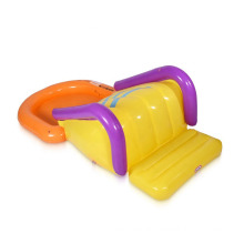 Customized Inflatable Kid Wading Pool With Slide