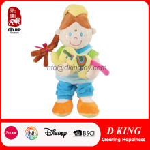 Bonecas recheadas de brinquedos para crianças personalizadas para bebês