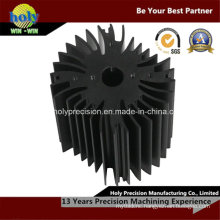 CNC Machining Aluminum Notebook Cooler Heat Sink with Drilling