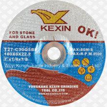 """Resina de pulido y amolado en rueda disco para piedra y vidrio 7"""" 180X6X22.2mm"""