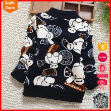 Long sleeves warm customized latest design baby boy sweater