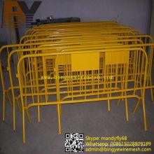 Barreras removibles recubiertas de polvo de alta calidad