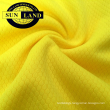 100% polyester knitted dri fit hexagon pattern mesh fabric 100% polyester knitted dri fit hexagon pattern mesh fabric