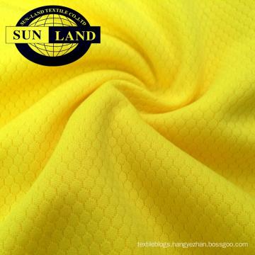 100% polyester knitted dri fit hexagon pattern mesh fabric 100% polyester knitted dri fit hexagon pattern mesh fabric
