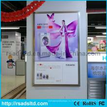 Хорошее качество акриловая Коробка СИД плаката светлой рамкой