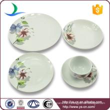 Vaisselle de mariage en porcelaine moderne avec set de dîner de meilleure qualité, set de thé