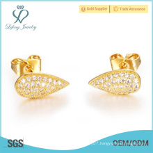 Hot sale 2015 Fashion Jewelry Gold Plating women Earrings Stud