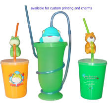 2015 Newst Design OEM Drinking Straw Cup-