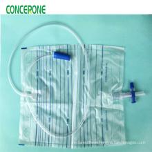 Sterile Urine Drainage Bag T-Valve