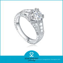 10 anos de fabricante Amy 925 anel de prata esterlina (R-0375)