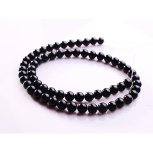4MM Black Obsidian Semi precious stone Beads