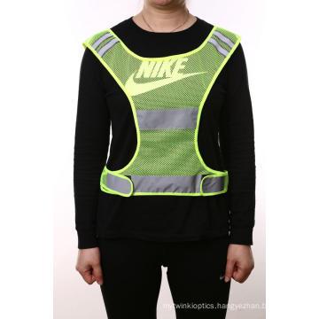 Reflective Mesh Safety Vest for Running