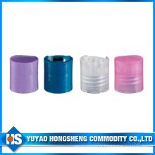 Esporte de garrafa de água de plástico e tampa de disco de plástico de tampas