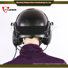 4 point chin strap harness uhmwpe ballistic helmet