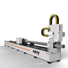High Power Cnc Fiber Laser Cutting Machine Laser Cut Square Tube/Pipe Round Tube Machine With Metal Material