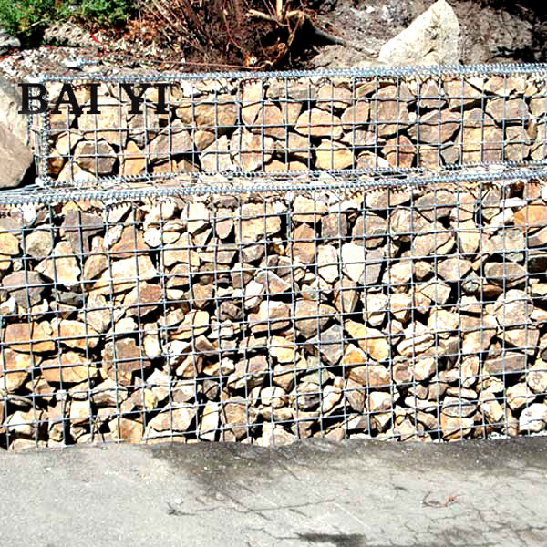 Hexagonal Gabion Wire Mesh for wall