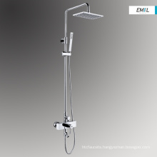 Electric bath and brass shower head