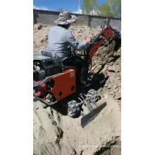 Hot Sale nouvellement conçu creuser la machine multi-fonction petite mini pelle hydraulique sur chenilles de 0,8 tonne
