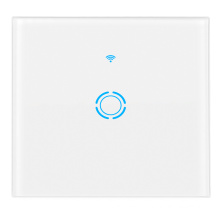 Smart Alexa Remote Control Switch Wifi Smart Home Automation 1 Gang Touch Switch tuya