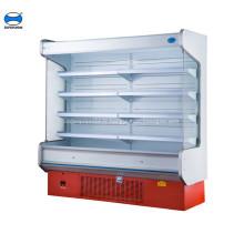 réfrigérateur réfrigéré commercial de fruits frais