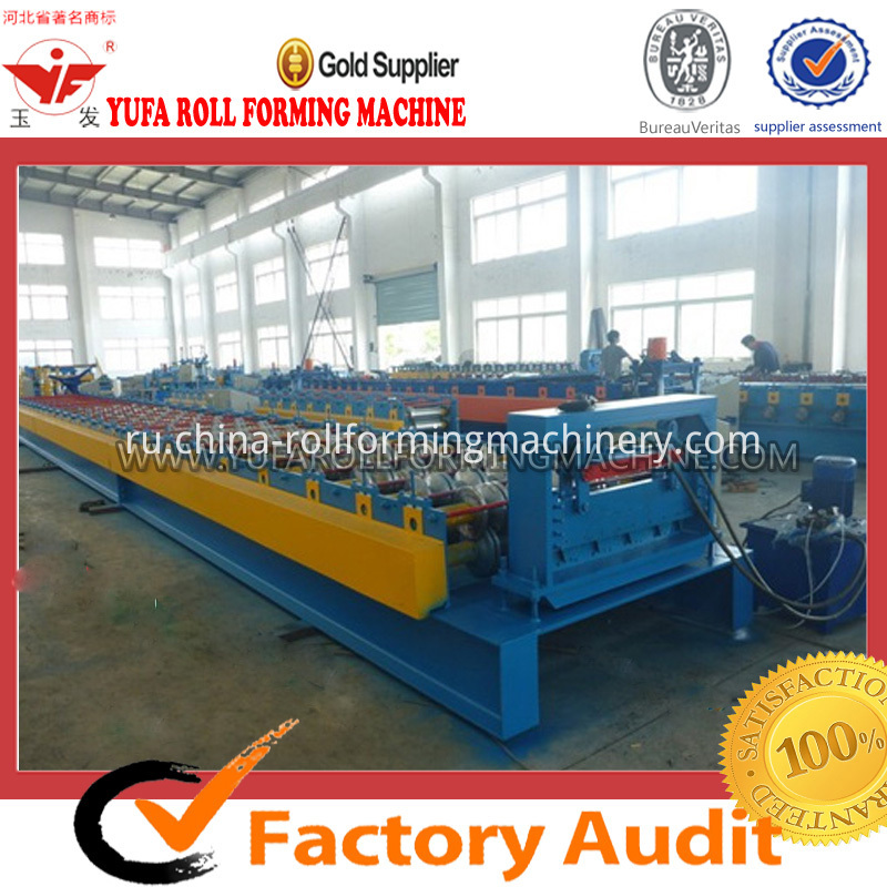 color steel floor tile making machine