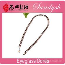 Wholesale Classic Eyelass Cords Unique Black And Golden Sunglass Retainer Strap