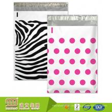 Großhandelspreis kundenspezifisches Design Tiefdruck benutzerdefinierte Druck Kunststoff Polka Dot Mailing Taschen