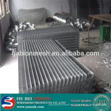 Panel de malla de alambre soldado galvanizado pesado calibre hecho en China