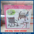 Servicio de impresión One Way Vision Sticker