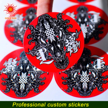 Waterproof Self Adhesive Customized Sticker