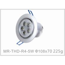 Plafonnier de l'intense luminosité LED de 5W