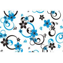 Neue Entwürfe druckten Muster PVC-materielles transparentes Tischtuch oilproof, Wegwerf, wasserdichte Eigenschaft