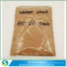 China exports detergent walnut shell grit in bulk supply